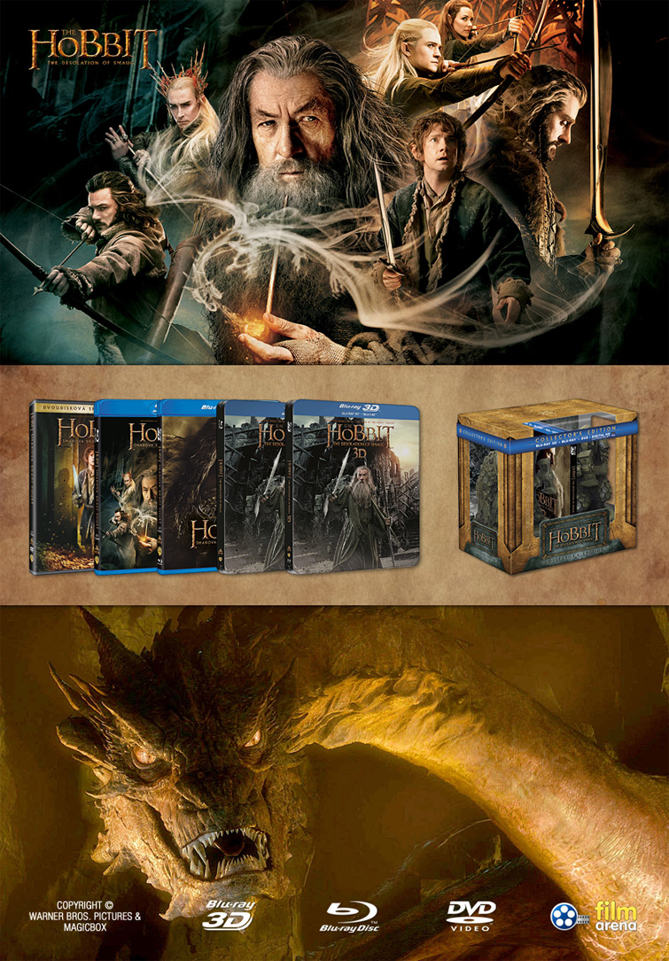 HOBIT: �makova dra�� pou�� (Hobbit: The Desolation Of Smaug)