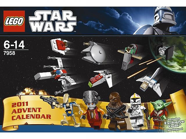 lego star wars adventni kalendar Adventní kalendář LEGO® Star Wars™ (Hračka) lego star wars adventni kalendar