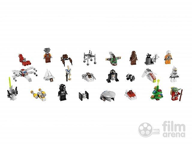 lego star wars adventni kalendar 2011 Adventní kalendář LEGO® Star Wars™ (Hračka) lego star wars adventni kalendar 2011
