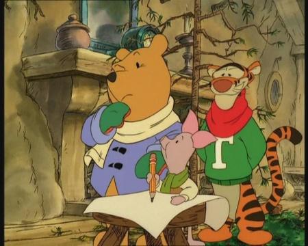 To jak medvídek pú a všichni ostatní slavili vánoce a nový rok