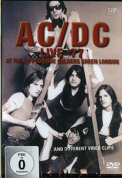 AC/DC - Live 1977 At the Hippodrome Golders Green London