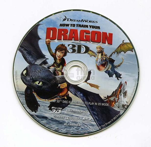 Jak Vycvičit Draka 3D (Blu-ray 3D