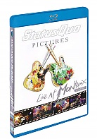 STATUS QUO - PICTURES/LIVE AT MONTREUX ' (Blu-Ray)