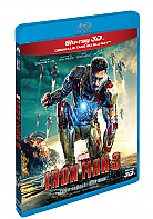 IRON MAN 3 3D + 2D (Blu-ray 3D + Blu-ray)