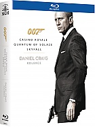James Bond DANIEL CRAIG Kolekce (3 Blu-ray)