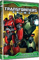 TRANSFORMERS PRIME 1. s�rie disk 4 (DVD)