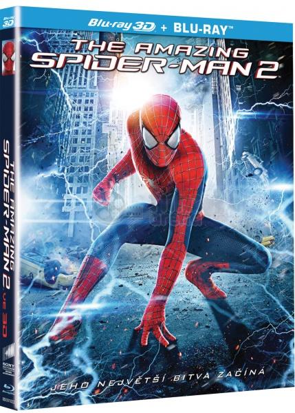The amazing spider man 2 blu ray