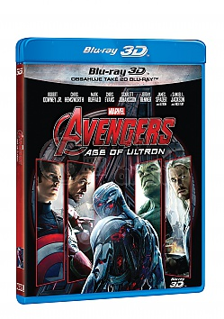 AVENGERS 2: The Age of Ultron 3D + 2D