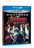 AVENGERS 2: The Age of Ultron 3D + 2D (Blu-ray 3D + Blu-ray)