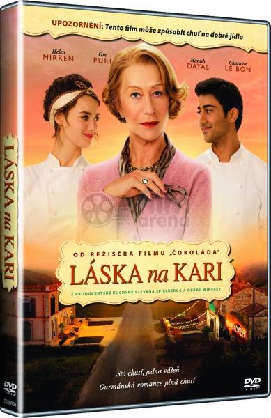 Úvodní strana dramatické filmy láska na kari (dvd)