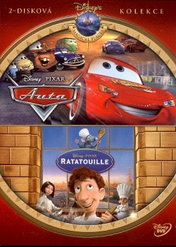 PIXAR 1 (Ratatouille, Auta) - 2pack