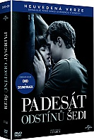 PADESÁT ODSTÍNŮ ŠEDI + CD soundtrack (DVD + CD)