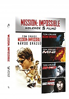 MISSION IMPOSSIBLE 1 - 5 Kolekce (5 DVD)