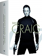 JAMES BOND: Daniel Craig (Casino Royale + Quantum of Solace + Skyfall + Spectre) Kolekce (5 DVD)