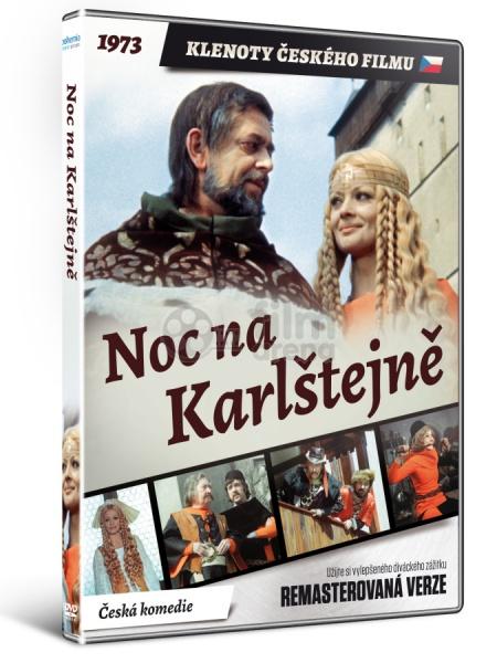 986fa633c Noc na Karlštejně (Klenoty českého filmu) Remasterovaná verze (DVD)