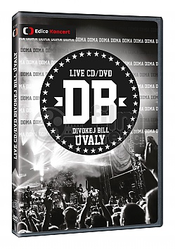 Divokej Bill Úvaly Live + CD Soundtrack