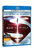MUŽ Z OCELI (4K Ultra HD + Blu-ray)