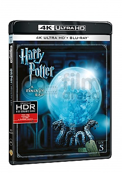 HARRY POTTER A FÉNIXŮV ŘÁD 4K Ultra HD