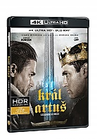 KRÁL ARTUŠ: Legenda o meči 4K Ultra HD (2 Blu-ray)