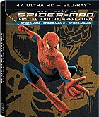 SPIDER-MAN 1 - 3 Origins Trilogie DigiBook Kolekce (4K Ultra HD + 6 Blu-ray)