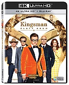 KINGSMAN: Zlatý kruh  4K Ultra HD (2 Blu-ray)