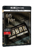 Harry Potter a vězeň z Azkabanu 4K Ultra HD (2 Blu-ray)