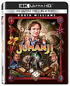 JUMANJI (4K Ultra HD + Blu-ray)