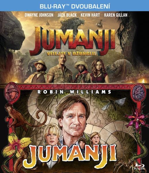 JUMANJI Kolekce (2 Blu-ray