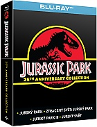 JURSKÝ PARK Soundbox (4 Blu-ray)