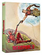 FAC #107 DEADPOOL 2 Double Lenticular 3D (Front and Back) FullSlip XL  EDITION #3 WEA EXCLUSIVE 4K Ultra HD Steelbook™ Limitovaná sběratelská edice - číslovaná (4 Blu-ray)