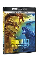 GODZILLA II KRÁL MONSTER 4K Ultra HD (2 Blu-ray)