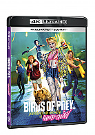 BIRDS OF PREY (Podivuhodná proměna Harley Quinn) (4K Ultra HD + Blu-ray)