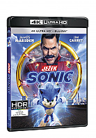 JEŽEK SONIC (4K Ultra HD + Blu-ray)