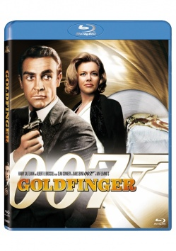 JAMES BOND 007: Goldfinger OLD COVER