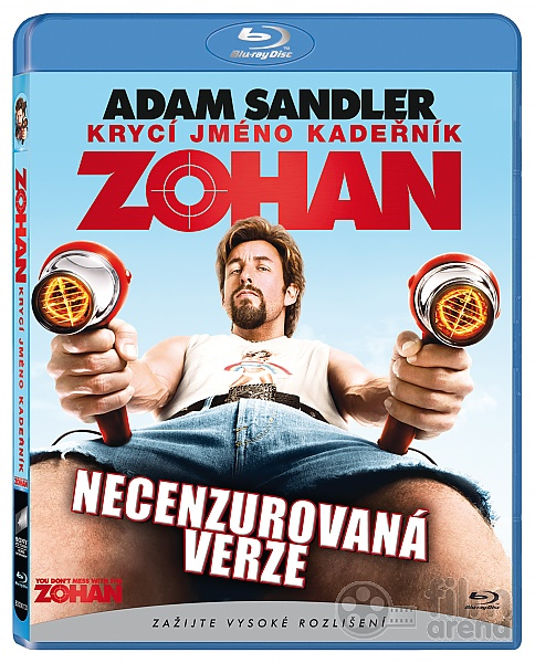 ZOHAN - Krycí jméno Kadeřník (Blu-ray) 0b3f04e6978
