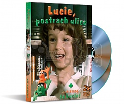 Kolekce LUCIE: Lucie, postrach ulice + …A zase ta Lucie!