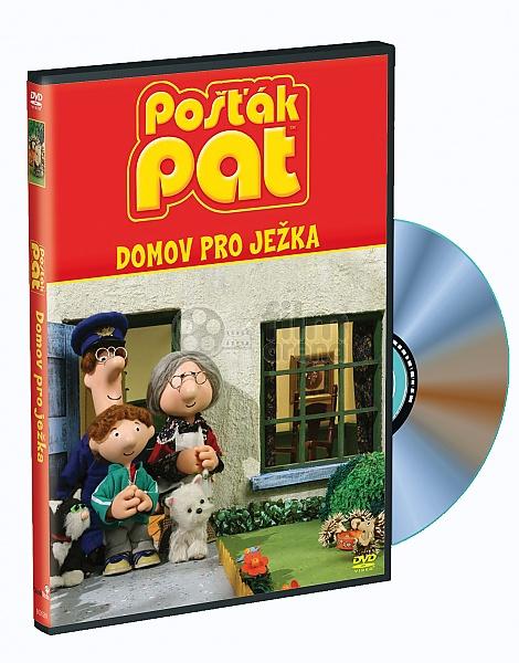 54b9c5534cb Pošťák Pat  Nové příběhy 4 - Domov pro ježka (DVD)