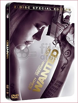 Wanted 2DVD Steelbook