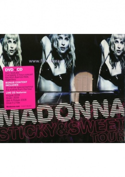 MADONNA: THE STICKY & SWEET TOUR (DVD+CD)