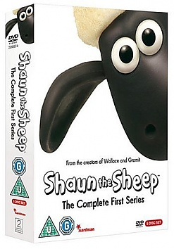 Shaun The Sheep - Ovečka Shaun: Kompletní 1. série (5DVD)