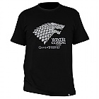 "TRIČKO GAME OF THRONES - ""Winter is coming"" pánské, černé XXL (Merchandise)"