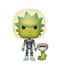 Funko POP! RICK & MORTY S2 - Space Suit Rick w/Snake (Merchandise)