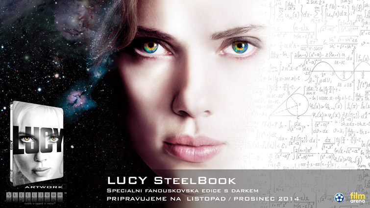 Lucy steelbook fan edice / LUCY Special Limited Fan Edition