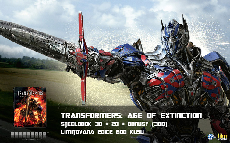 Transformers: Age of Extinction 3D + 2D Steelbook