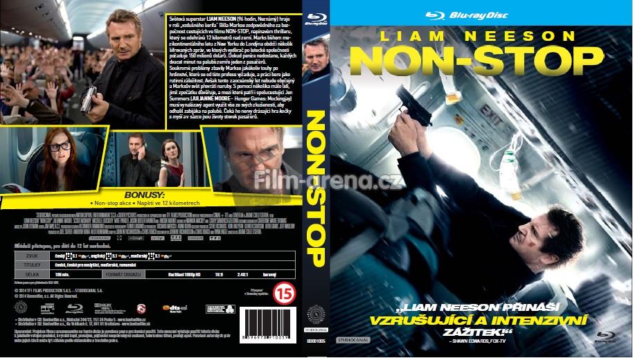 Bleskovka: NON-STOP: Znme specifikace eskho Blu-ray disku!
