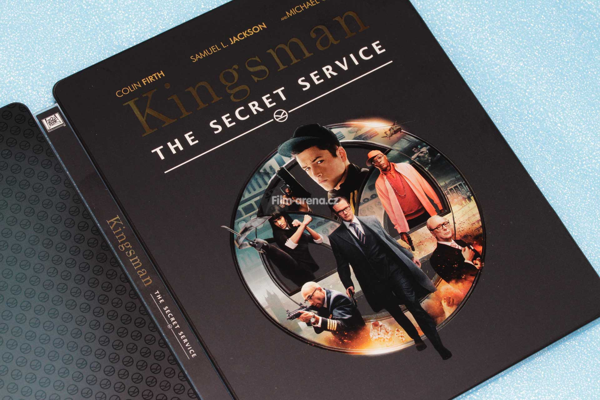 Kingsman the secret service blu ray steelbook filmarena collection